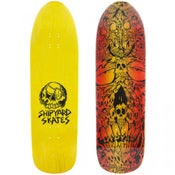 "Image of Shipyard Skates ""Bobby Brown Skull"" deck"