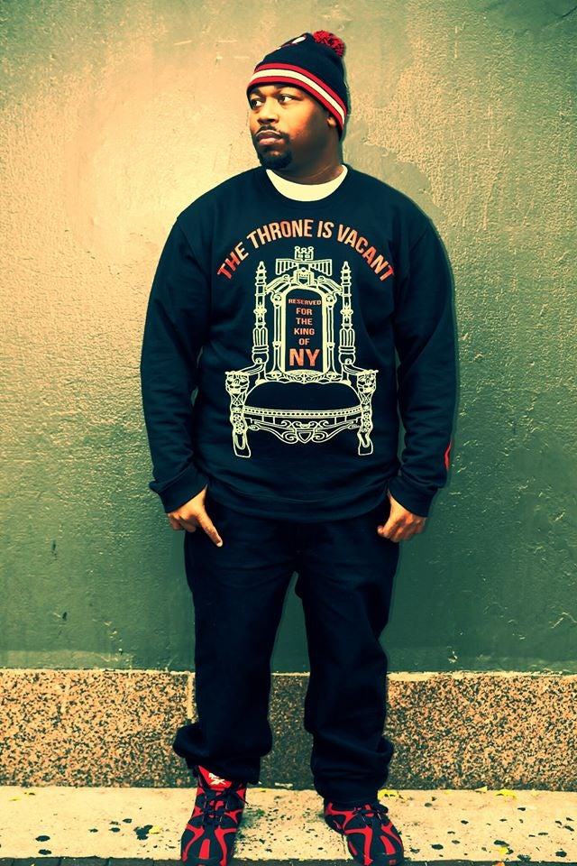 Image of The Throne Is Vacant Crewneck
