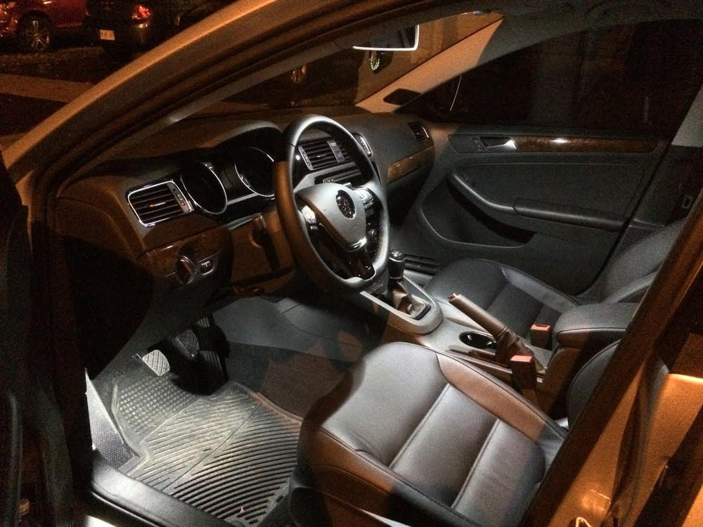 Image of Complete Interior LED Kit with Footwells fits: 2015 MK7 VW Jetta
