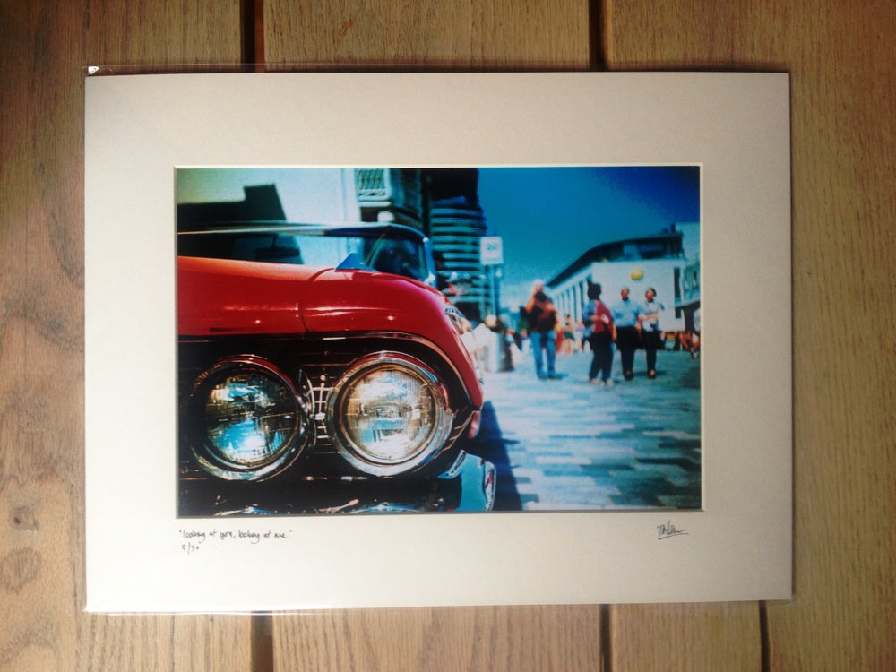 "Image of ""looking at you, looking at me"" limited edition print"