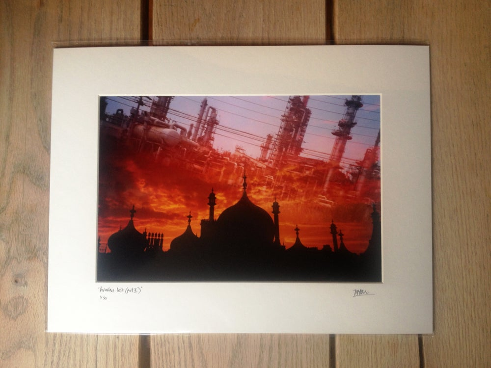 """Image of """"paradise lost (part 2) 堕ちた楽園"""" limited edition print"""