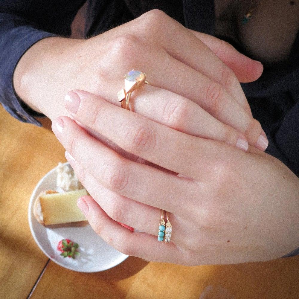 Image of Diamond Graham Ring