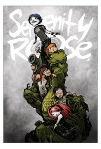 Image of SERENITY ROSE: 10 AWKWARD YEARS signed hardcover