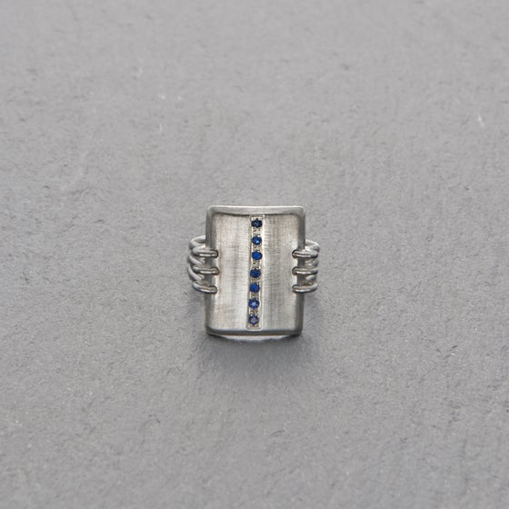 Image of Elephant Path Ring Silver