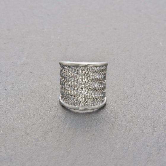 Image of Palmyrah Ring Silver