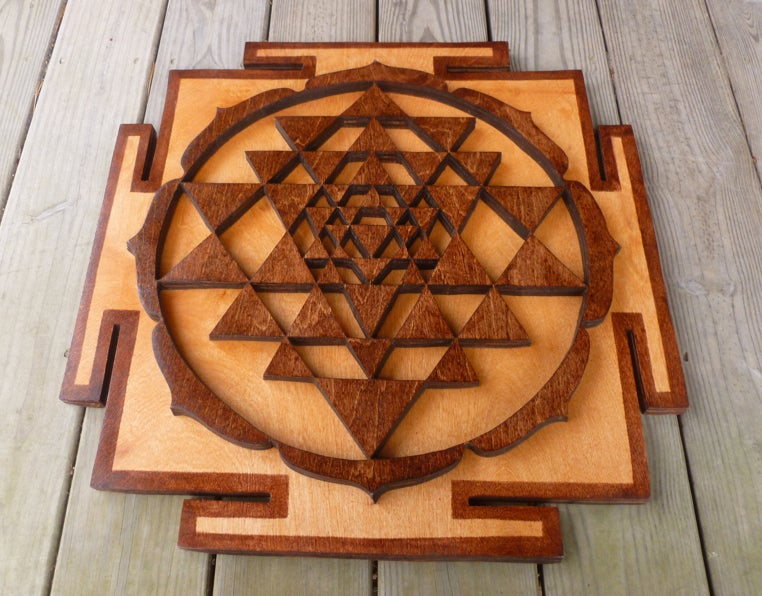 Image of Sri Yantra Mandala