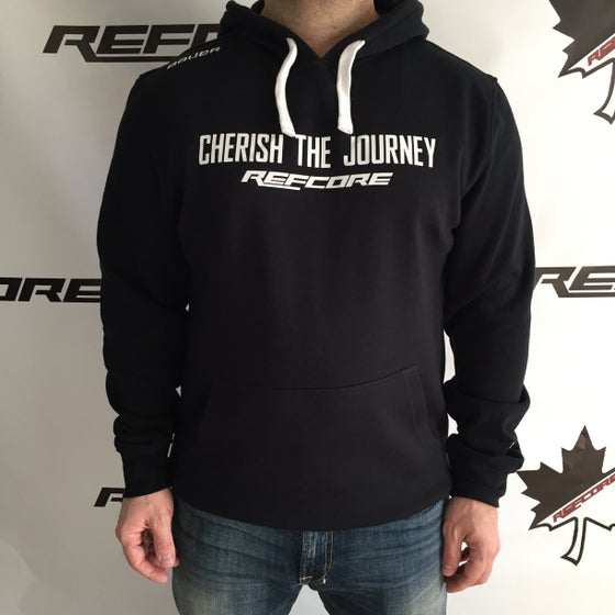 Image of REFcore Cherish Hoodies Black