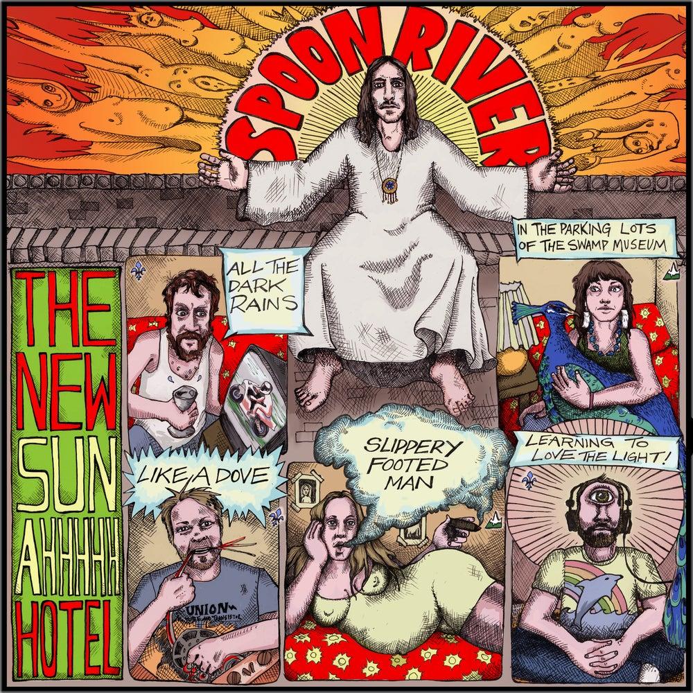 Image of The New Sun AHHHHH Hotel CD