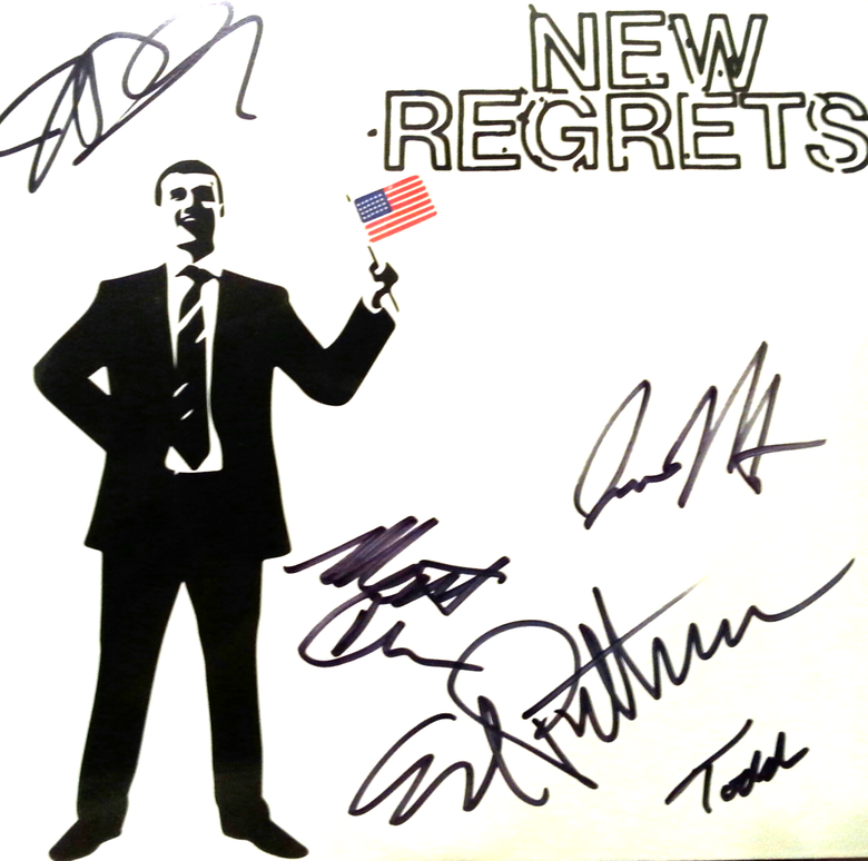 Image of New Regrets 5 Song 7""
