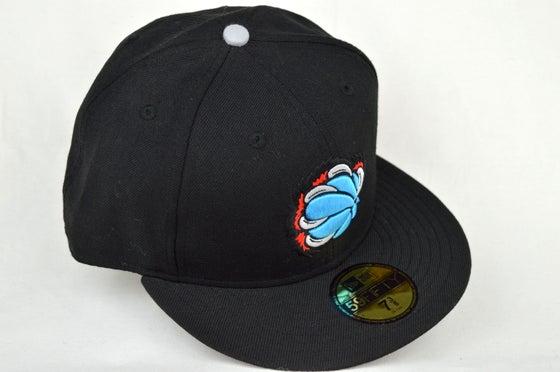 Image of MEMPHIS GRIZZLIES CUSTOM BLACK NEW ERA 5950 FITTED CAP