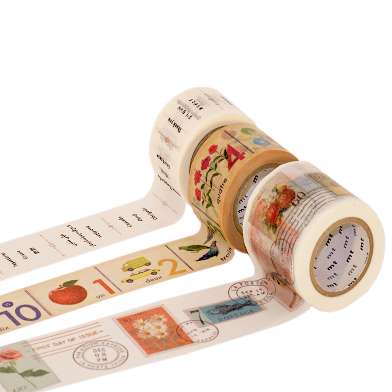 Image of MT Washi Tape - French Numbers