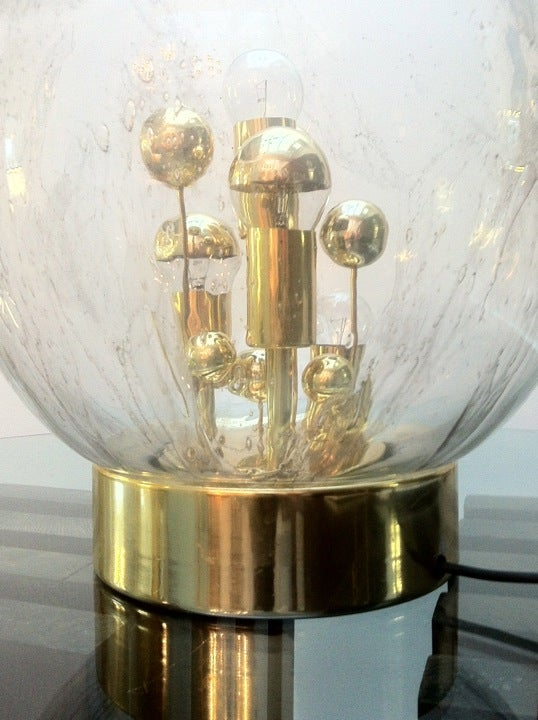 Image of Glass Table Lamp by Doria