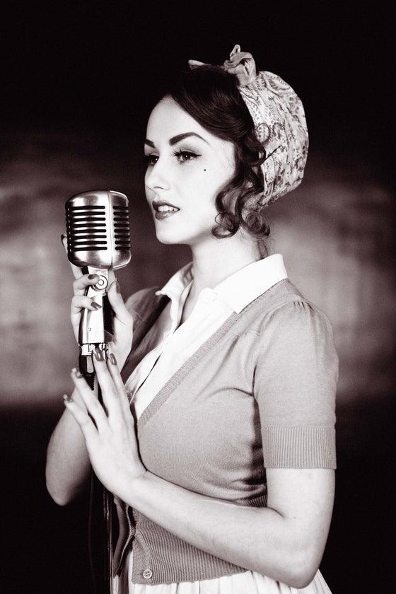 Image of Vintage Singer Print