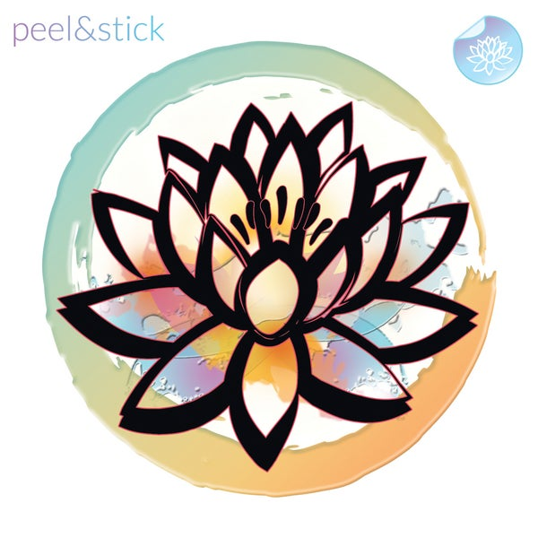 Image of Lotus Decal