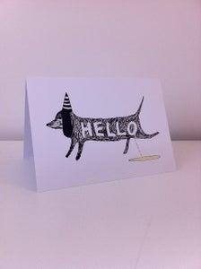 Image of Naughty Dog- card