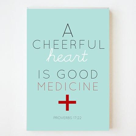 Image of Cheerful Heart 8x10