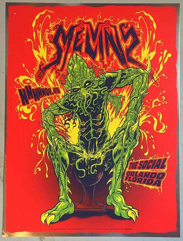 Image of MELVINS GIG POSTER