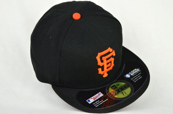 Image of SAN FRANCISCO GIANTS ON-FEILD NEW ERA 5950 FITTED CAP