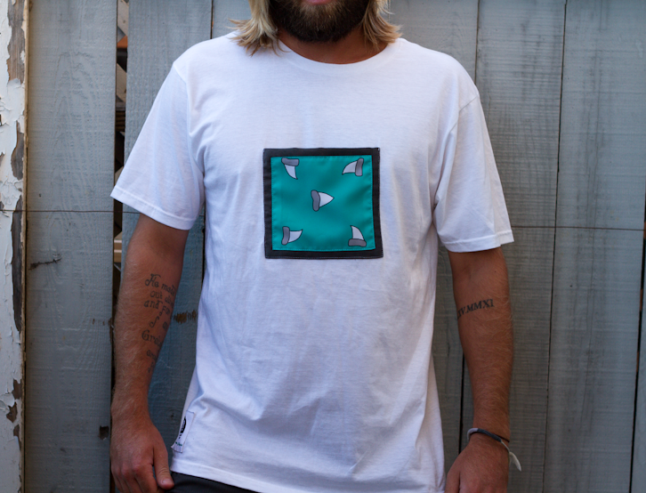 Image of Shark Tooth Large Chest Pocket Tee