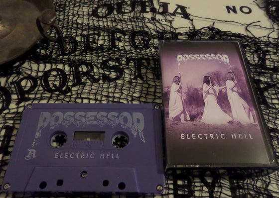 "Image of Possessor ""Electric Hell"" cassette"