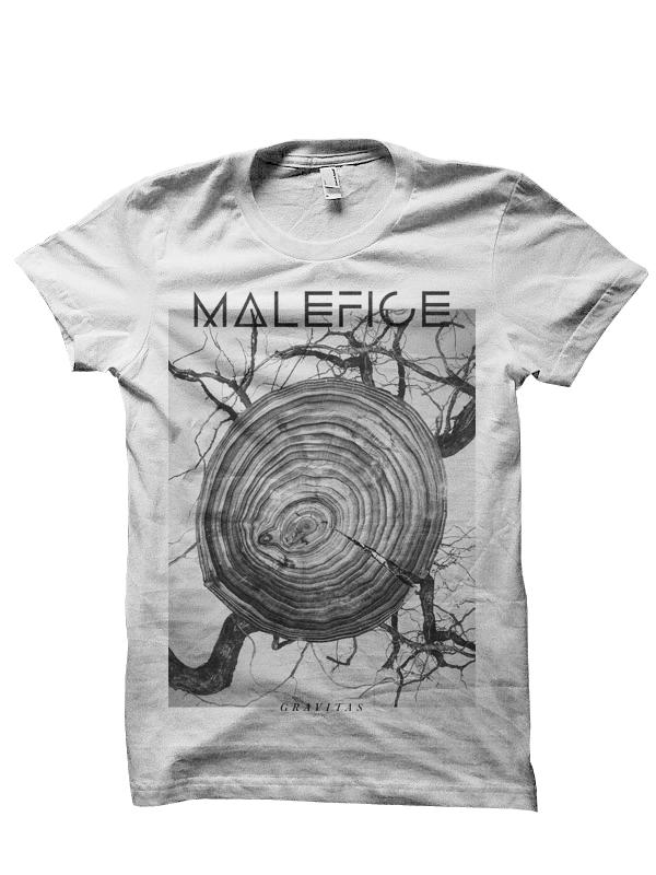 Image of Malefice - 'Gravitas' Tee (White)