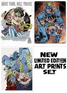Image of Limited edition ART PRINTS set x 3