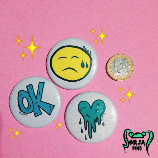 Image of Sad4Ever Pins Set