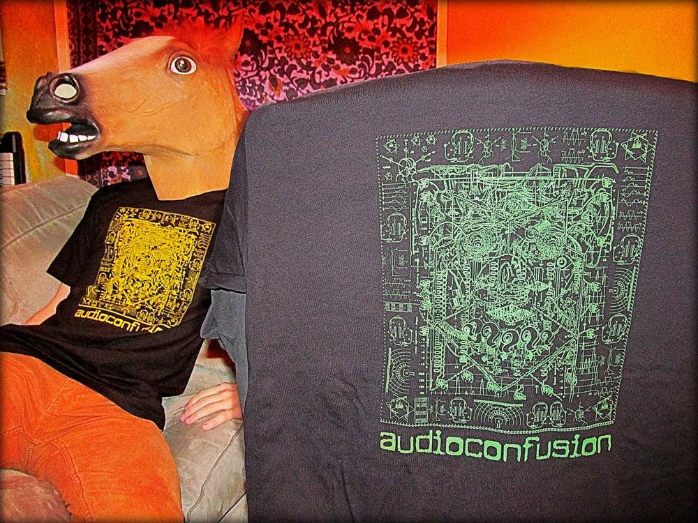 Image of Audioconfusion Circuit Board shirt