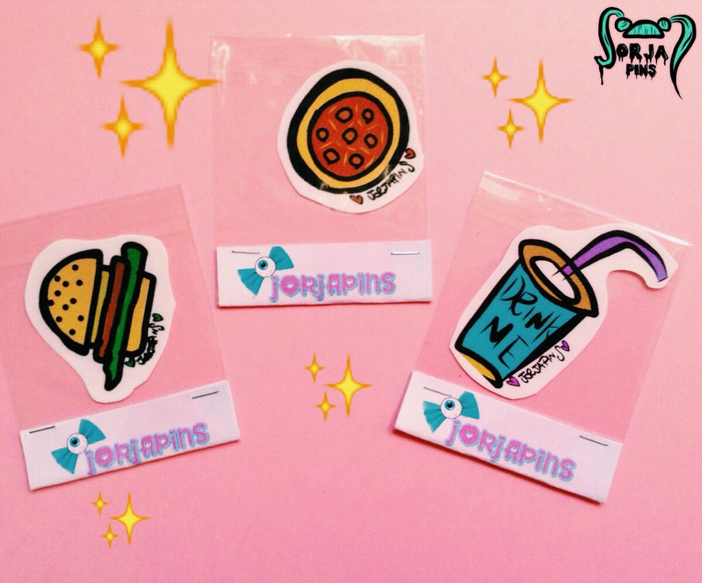 Image of I'M HUNGRY STICKERS SET