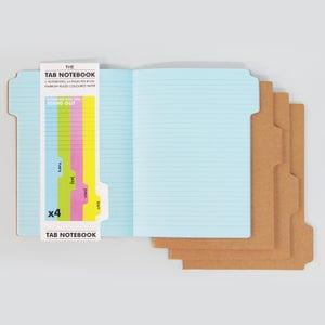 Image of Tab notebooks