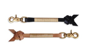 """Image of LEATHER & BRASS """"ARROW KNOT"""""""