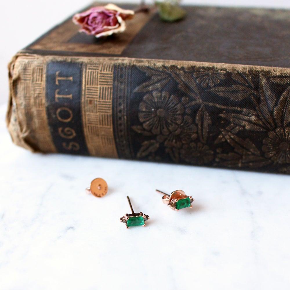 Image of Eleanor Emerald Earring