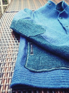 Image of loden jacket blue MEN