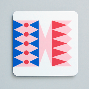 Image of Cracker coaster Pink