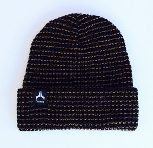 Image of ON SALE Mantis signature team beanie black/ black tags