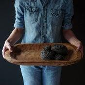 Image of Carved wood bowl
