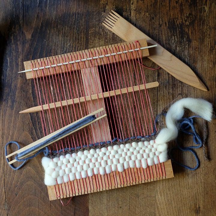 Image of Handmade hand loom kit