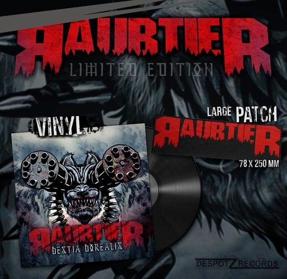 "Image of Raubtier - Bestia Borealis vinyl 12"" incl. sew on patch"