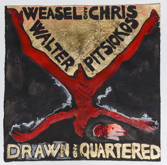 """Image of Weasel Walter & Chris Pitsiokos """"Drawn and Quartered"""" LP (OH0004)"""