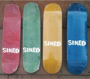 Image of SINED Logo Blanks
