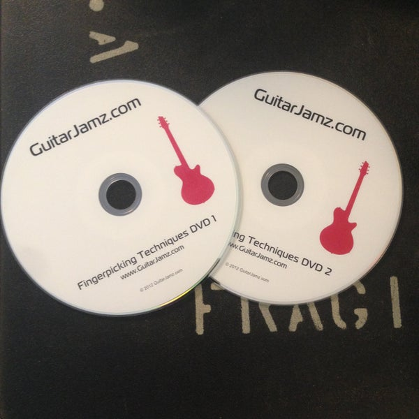 Image of Kones' 2 DVD Fingerstyle Guitar Course