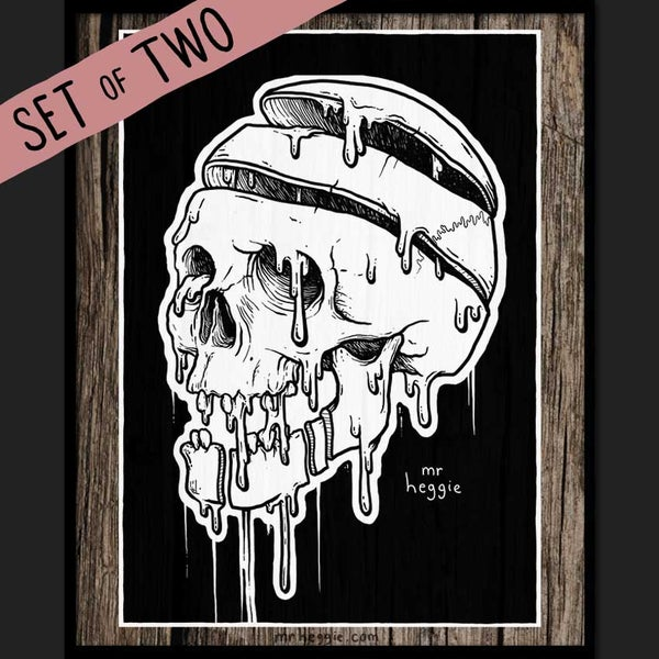 Image of The Big Ass Skull Set