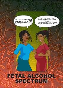 Image of FETAL ALCOHOL SPECTRUM DISORDERS.  FASD FLIPCHART (GST Incl.)
