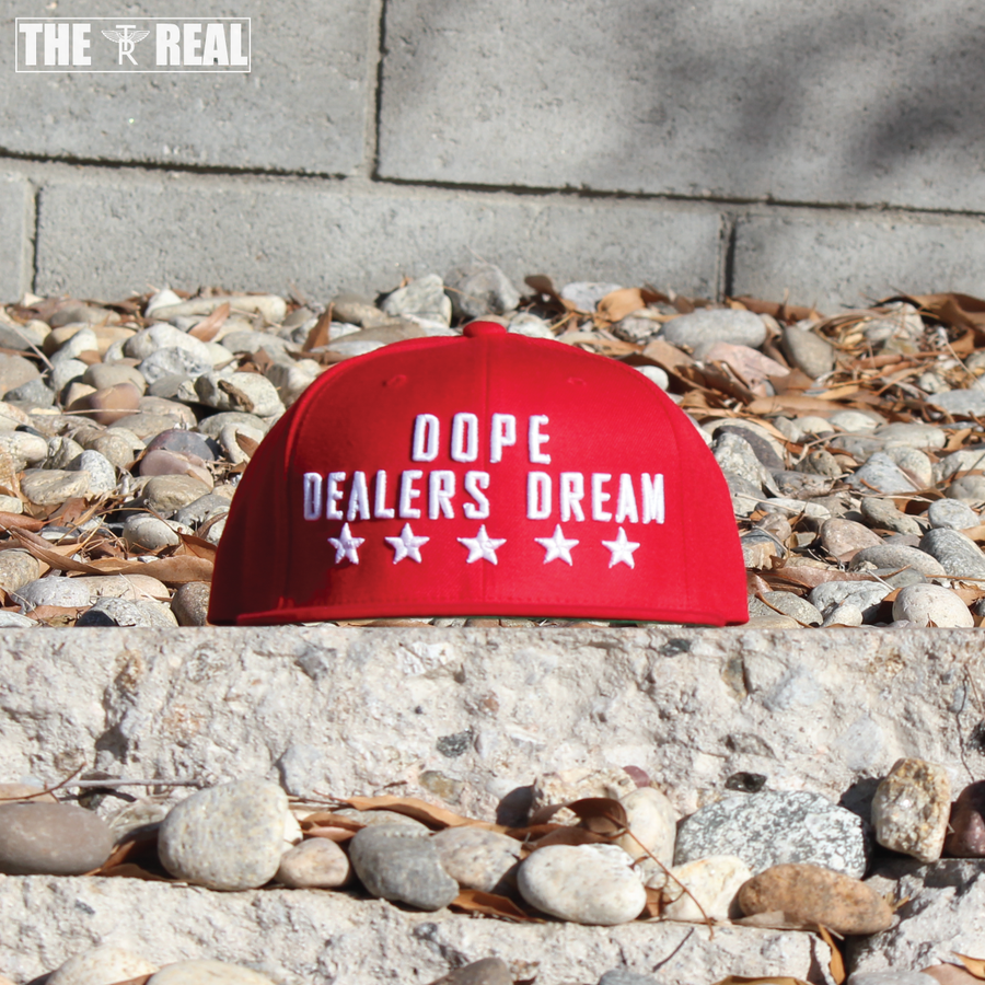 Image of DOPE DEALERS DREAM Snapback in Red
