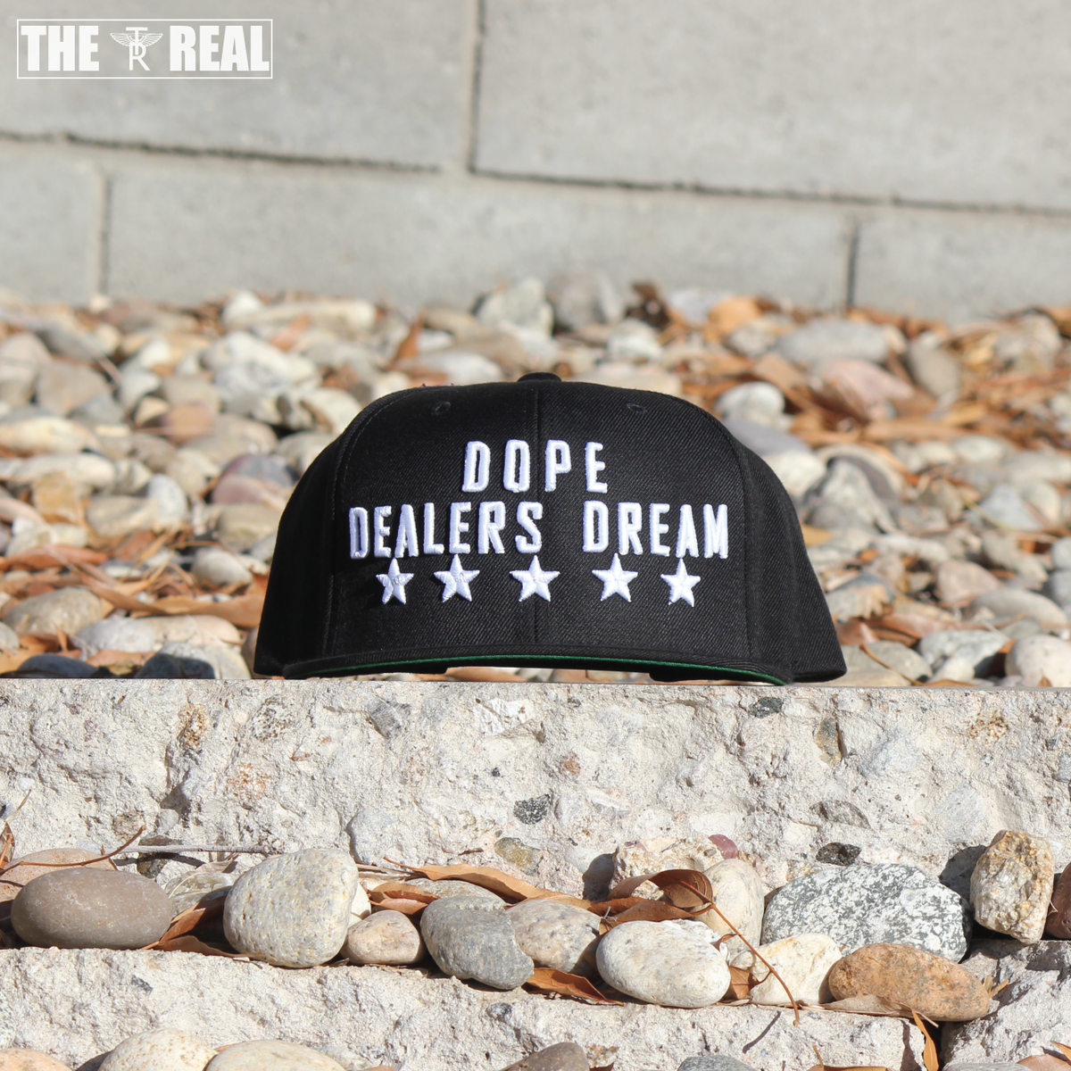 Image of DOPE DEALERS DREAM Snapback in Black