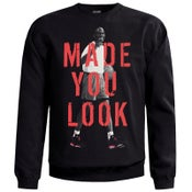 "Image of LIKE MIKE ""MADE YOU LOOK"" Infrared Sweater"