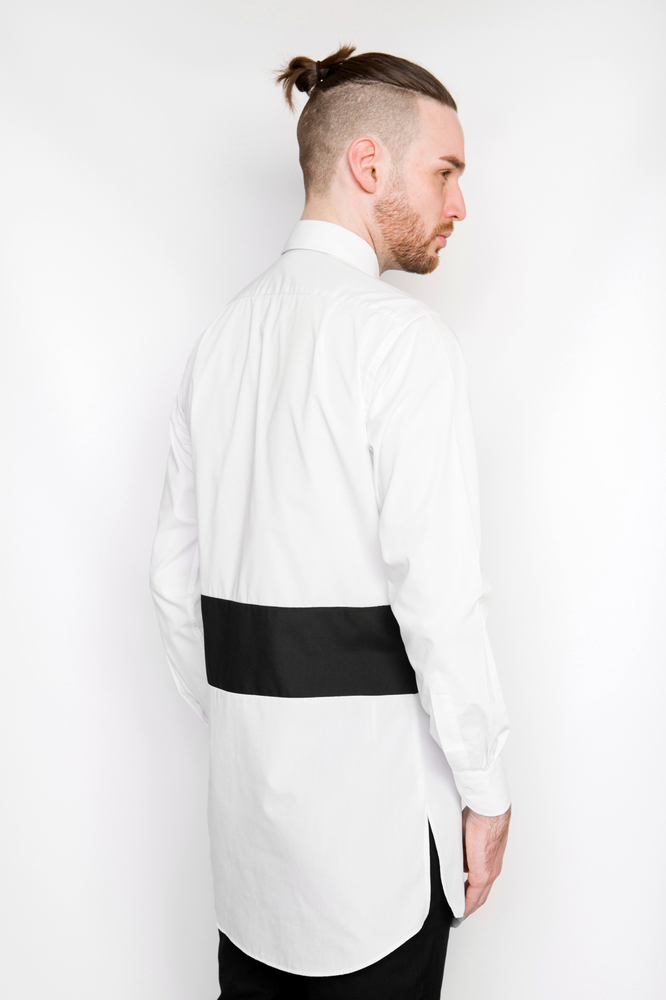 Image of Ⅲ W Extended Shirt