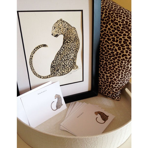 Image of Leopard Art Print
