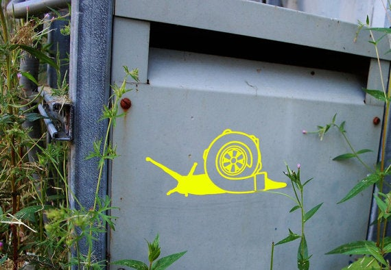 Image of Turbo Snail Sticker