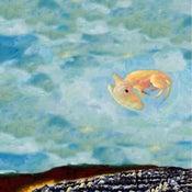 Image of Floating dog